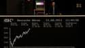 La Bourse de Franfort. Les Bourses européennes poursuivent leur rebond vendredi, même si l'effet de l'interdiction des ventes à découvert sur les financières dans quatre pays européens pour 15 jours risque de faire long feu. /Photo prise le 12 août 2011/R