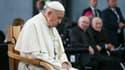 Le pape François le 26 août 2018 lors de sa visite en Irlande.