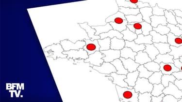 Carte Nice Lyon Ces Villes Ou La Propagation Du Coronavirus Preoccupe Le Gouvernement