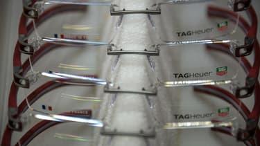 L'entreprise LOGO produisait notamment les lunette Tag Heuer