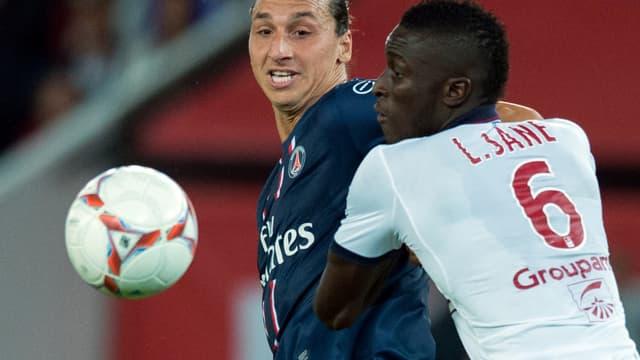 Zlatan Ibrahimovic et Ludovic Sané