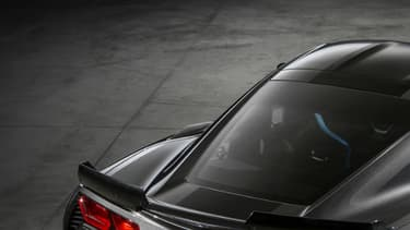 La Corvette, ici dans sa version Grand Sport, truste réseaux sociaux et recherche d'internautes.