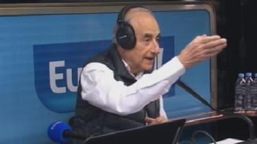 Jean-Pierre Elkabbach sur Europe 1 vendredi 21 mars.