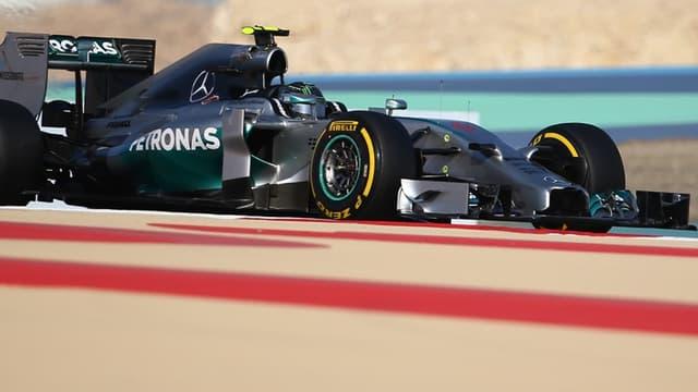 Nico Rosberg partira en pole position à Bahreïn
