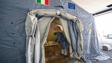Un soignant en Italie