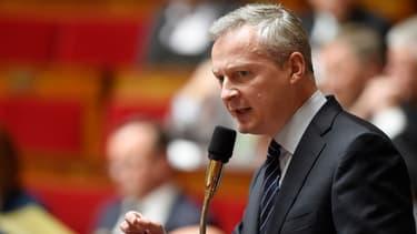 Bruno Le maire, à l'Assemblée nationale, le 12 mai 2015.
