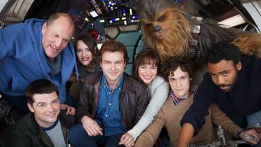 """Les acteurs de """"A Star Wars Story"""", le spin-off sur Han Solo"""