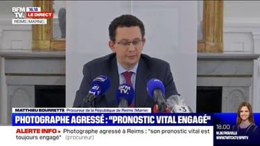 """Photographe agressé à Reims: le suspect avait """"déjà été condamné à 8 reprises entre 2018 et 2019"""", selon le procureur"""