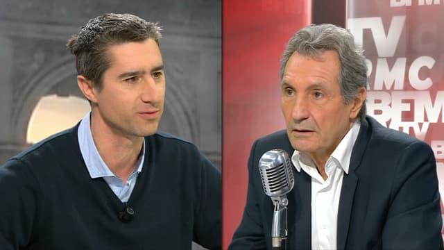 François Ruffin sur BFMTV le 14 mars.