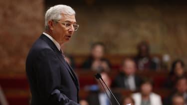 Le président de l'Assemblée nationale Claude Bartolone