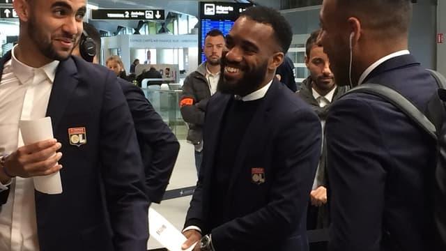 Les Lyonnais en partance pour Amsterdam
