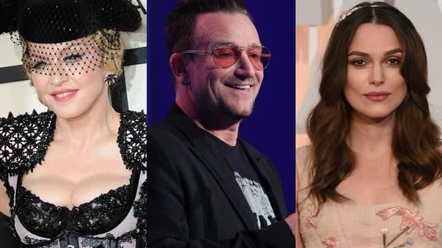 """Madonna, Bono et Keira Knigthley sont tous trois cités dans les """"paradise papers"""""""