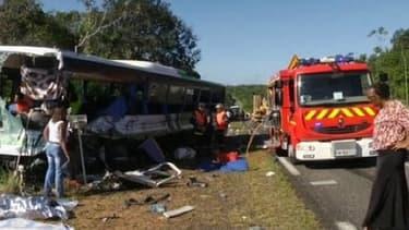 L'accident a été très violent mercredi en Guyane