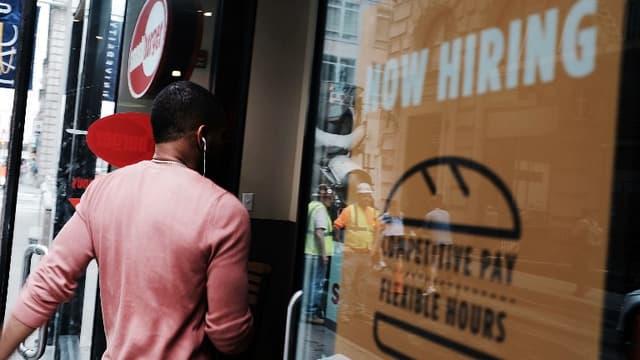 La Réserve fédérale américaine estime que les Etats-Unis sont en situation de plein emploi.
