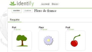 Le site de PlantNet permet déjà, à partir de photos, d'identifier des plantes de la flore française.