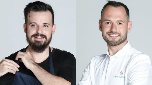 Adrien et David, les finalistes de Top Chef