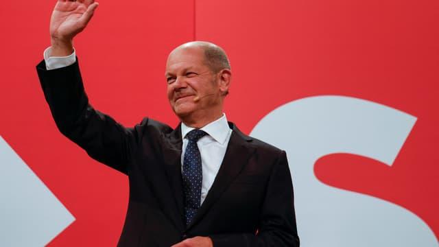 Le leader du SPD Olaf Scholz