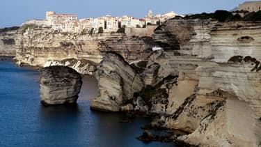 Bonifacio, en Corse-du-Sud, le 22 octobre 2013. Photo d'illustration