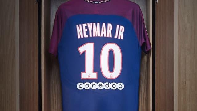 Le maillot de Neymar