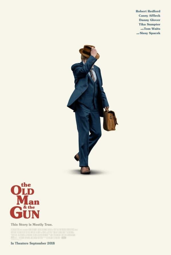 Affiche du dernier film de Robert Redford