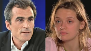Raphaël Enthoven et Sara Forestier