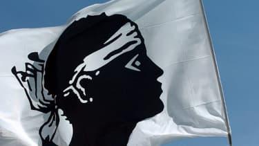 Le drapeau corse - Image d'illustration