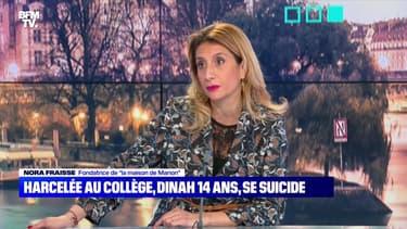 """Nora Fraisse: """"Malheureusement pour Dinah, Marion et tous ces enfants, tout n'a pas été fait"""" - 23/10"""