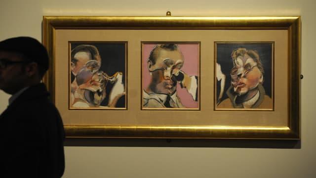 Une peinture de Francis Bacon exposée au musée du Prado. (illustration)