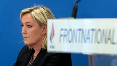 La présidente du Front national Marine Le Pen