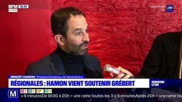 Régionales : Hamon vient soutenir Grébert
