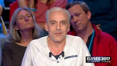 Philippe Poutou, candidat NPA à l'élection présidentielle