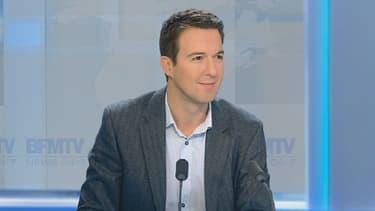 Guillaume Peltier a évoqué la nouvelle posture de Nicolas Sarkozy sur le Mariage pour tous, ce lundi soir sur BFMTV.
