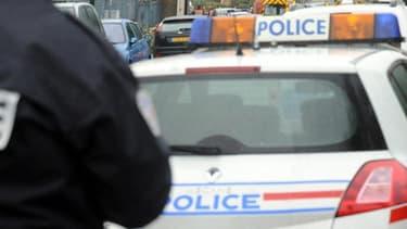 En Haute-Marne, une course-poursuite entre fuyards et policier à duré une heure dans la nuit du 17 au 18 février 2014 (illustration).