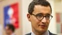 Gérald Darmanin le 26 novembre  2014 à Lille. Elu à la région, il renonce à son mandat de député.