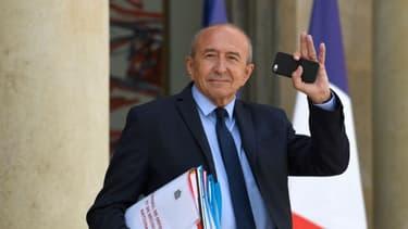 Gérard Collomb a quitté Beauvau et rejoint la ville de Lyon ce mercredi.
