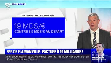 EPR de Flamanville: facture à 19 milliards ! - 10/07