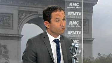Benoît Hamon était l'invité de BFMTV et RMC.