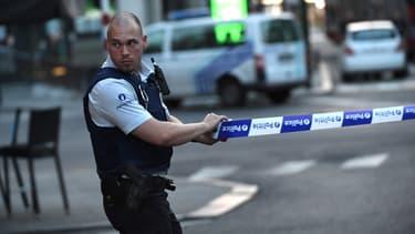 Un périmètre de sécurité a été établi autour de la gare Central de Bruxelles.