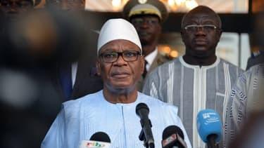 Ibrahim Boubar Keita, le 15 août 2017