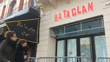 La devanture du Bataclan.