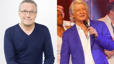 Laurent Ruquier et Patrick Sébastien, animateurs sur France Télévisions