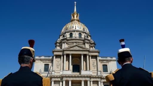 L'Hôtel des Invalides à Paris abrite le musée de la Guerre