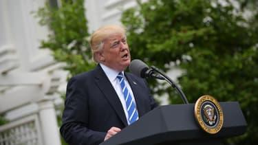 Donald Trump, le 1er mai 2017.