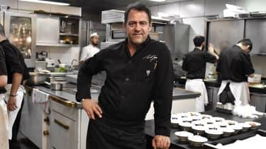 Le chef Michel Sarran