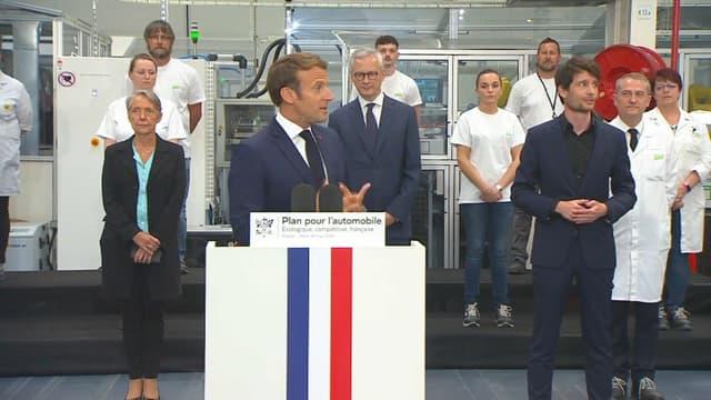 Emmanuel Macron a annoncé un important plan de soutien à l'automobile, mais est-ce suffisant?