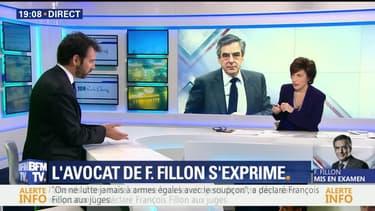 """Mise en examen de François Fillon: """"Cette procédure est viciée jusqu'à la moelle"""", a réaffirmé Me Antonin Lévy"""