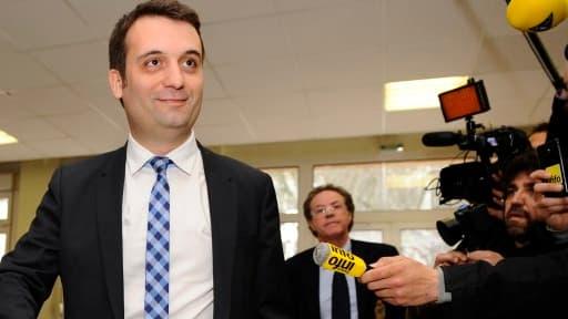 Florian Philippot est arrivé en tête à Forbach, devant le maire socialiste sortant.