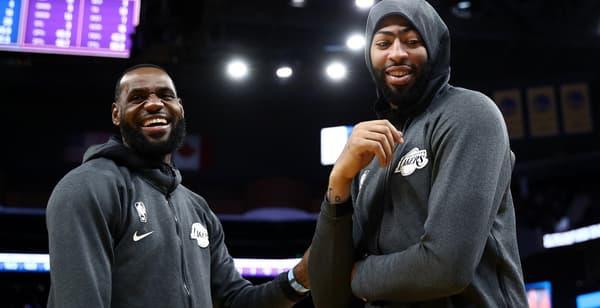 LeBron et Davis