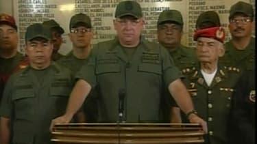 Le ministre de la Défense du Venezuela, Diego Molero.