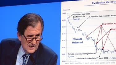 Le président du conseil de surveillance de Vivendi, Jean-René Fourtou